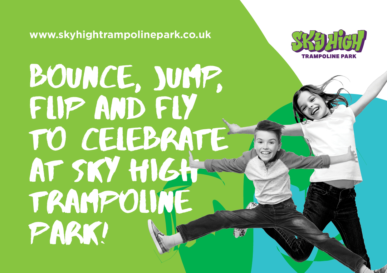 party invitations sky high