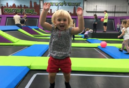 Toddler bounce