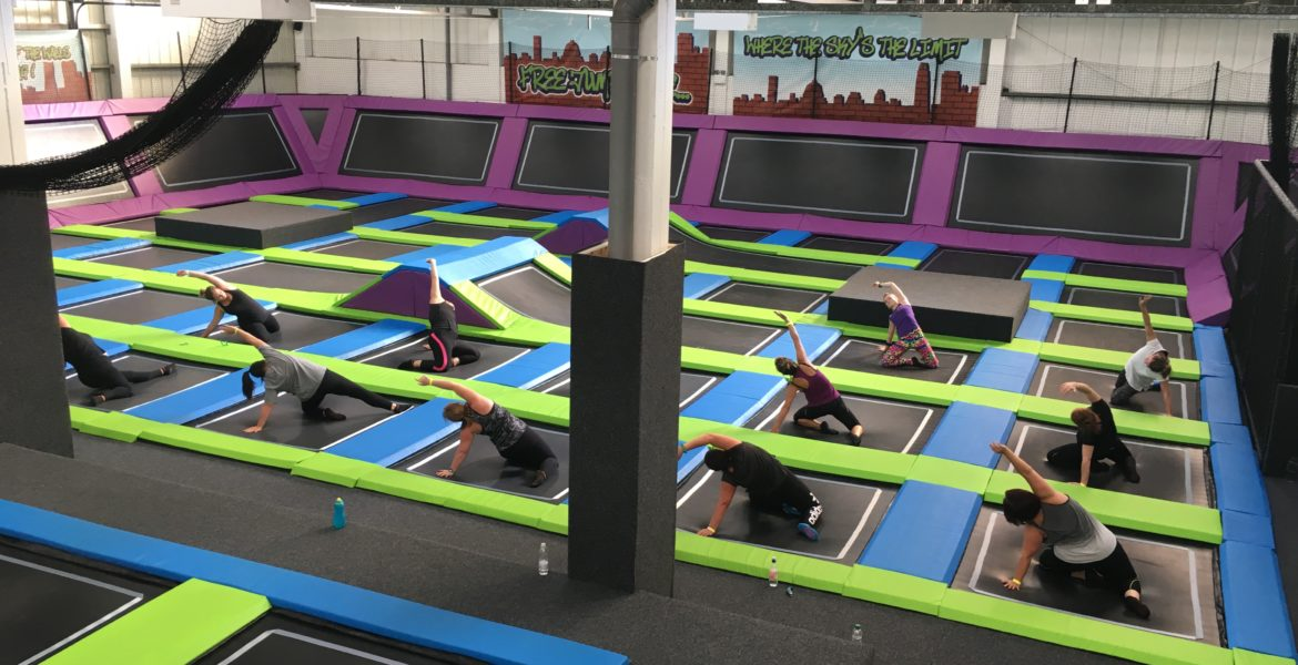 BounceFIT at Sky High Trampoline Park