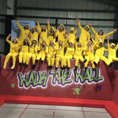 Pudsey at Sky High Trampoline Park