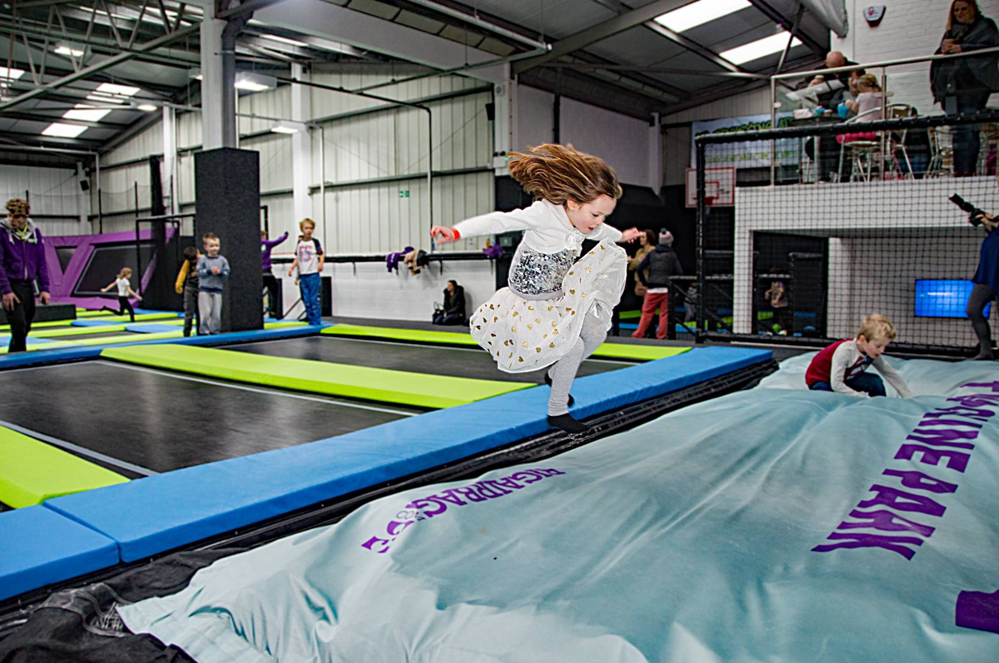 Jump Club at Sky High Trampoline Park