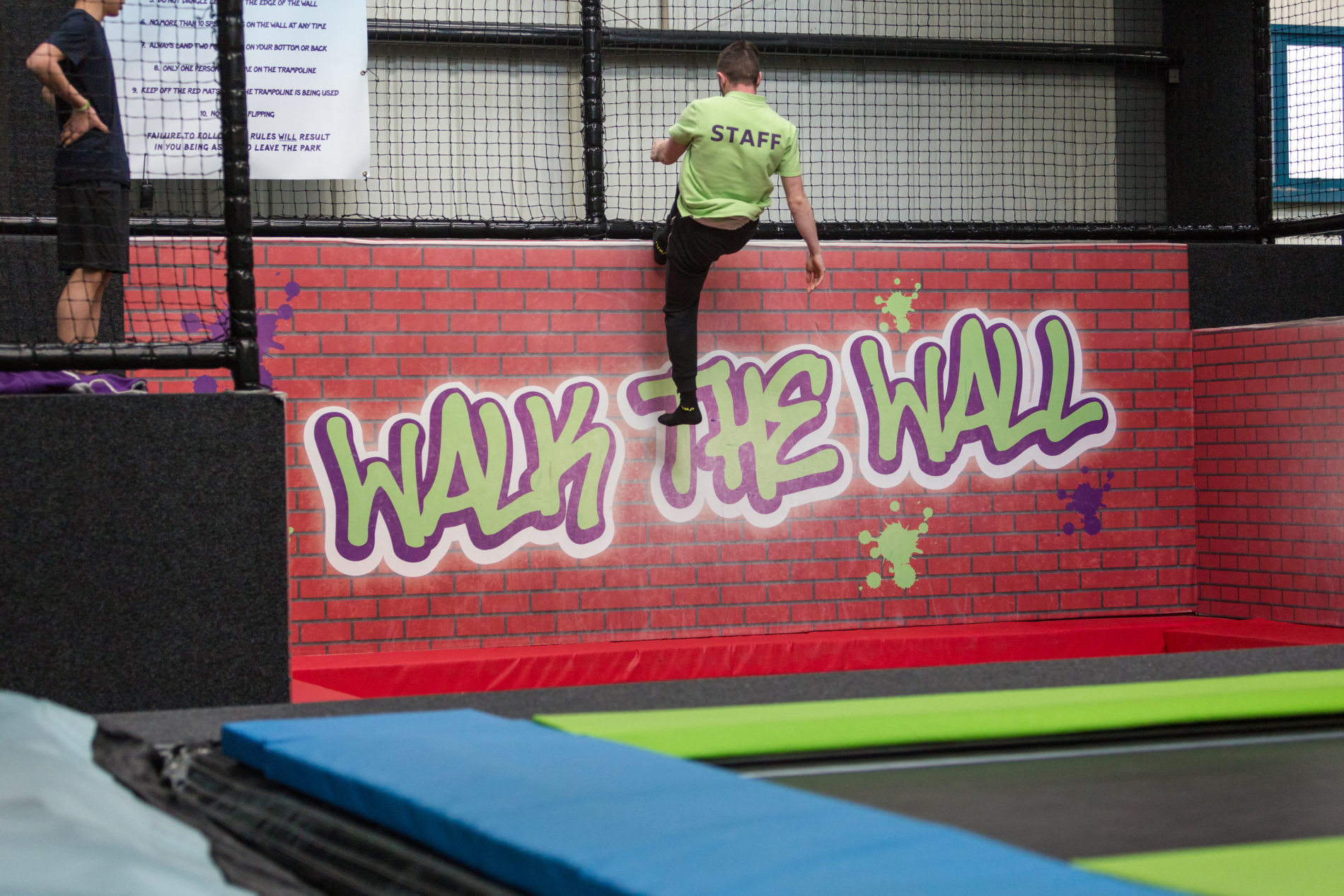 Bounce at Sky High trampoline park