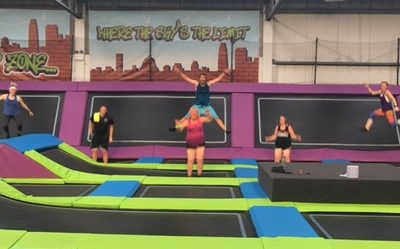 Bounce fitters jump for joy