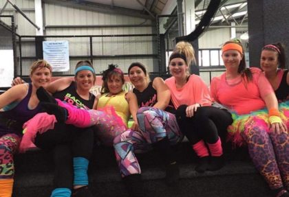 BounceFIT 80s Party