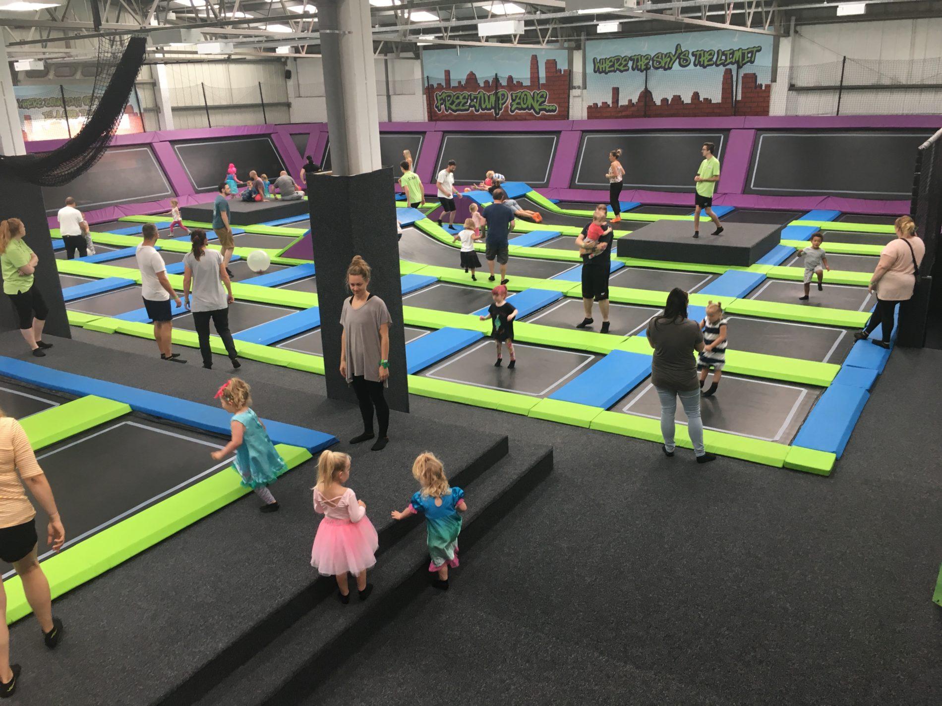 sky high trampoline park a birthday party fit for a princess fitmomtv