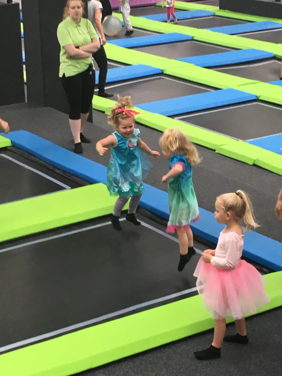 sky high trampoline park a birthday party fit for a princess