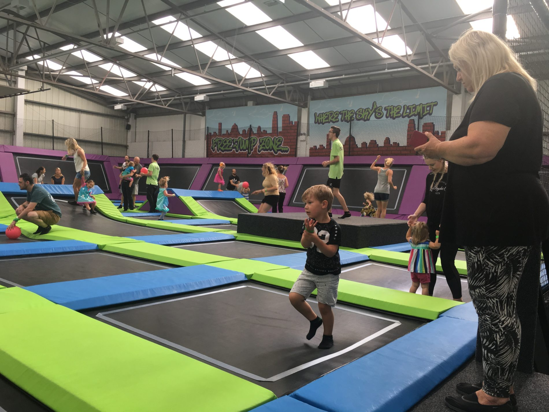 Sky High Trampoline Park Trolls Party
